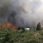 The Yarnell Fire in Arizona began on Jun. 28, 2013, from a lightning strike.