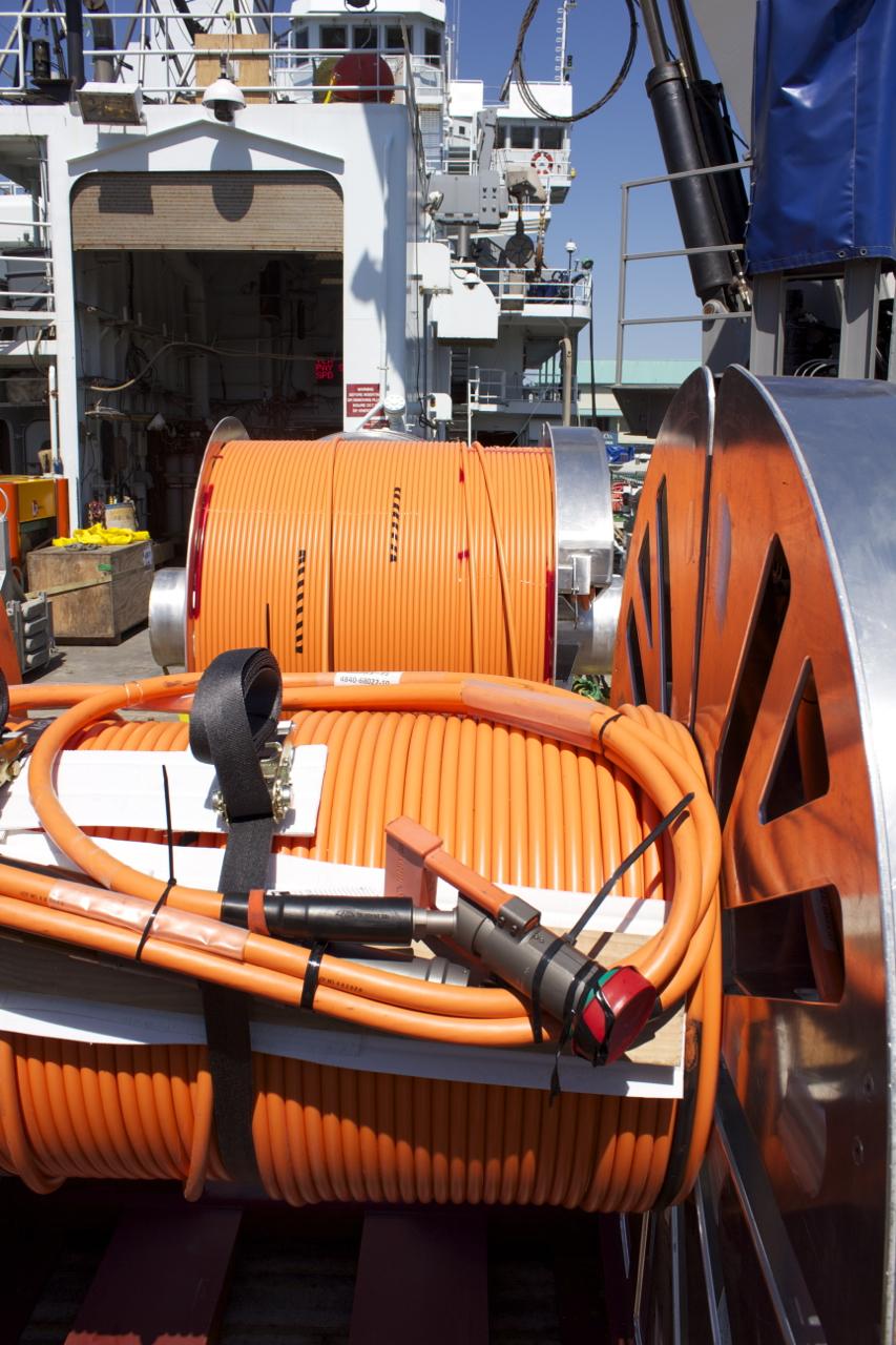 orange cables