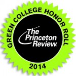 Princeton Review Green College Honor Roll badge