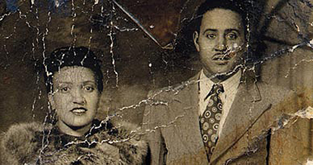 A 1945 photograph of Henrietta and David Lacks.