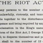 The Riot Act, circa 1714