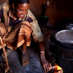An example of one of the more efficient cookstoves used in developing countries.