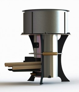 A conceptual image of the stove the UW-led team will design.