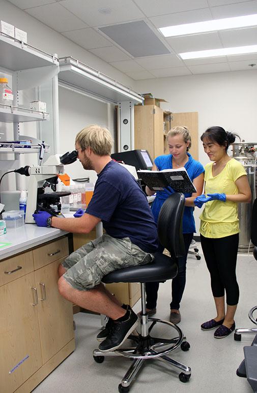 Protein design team