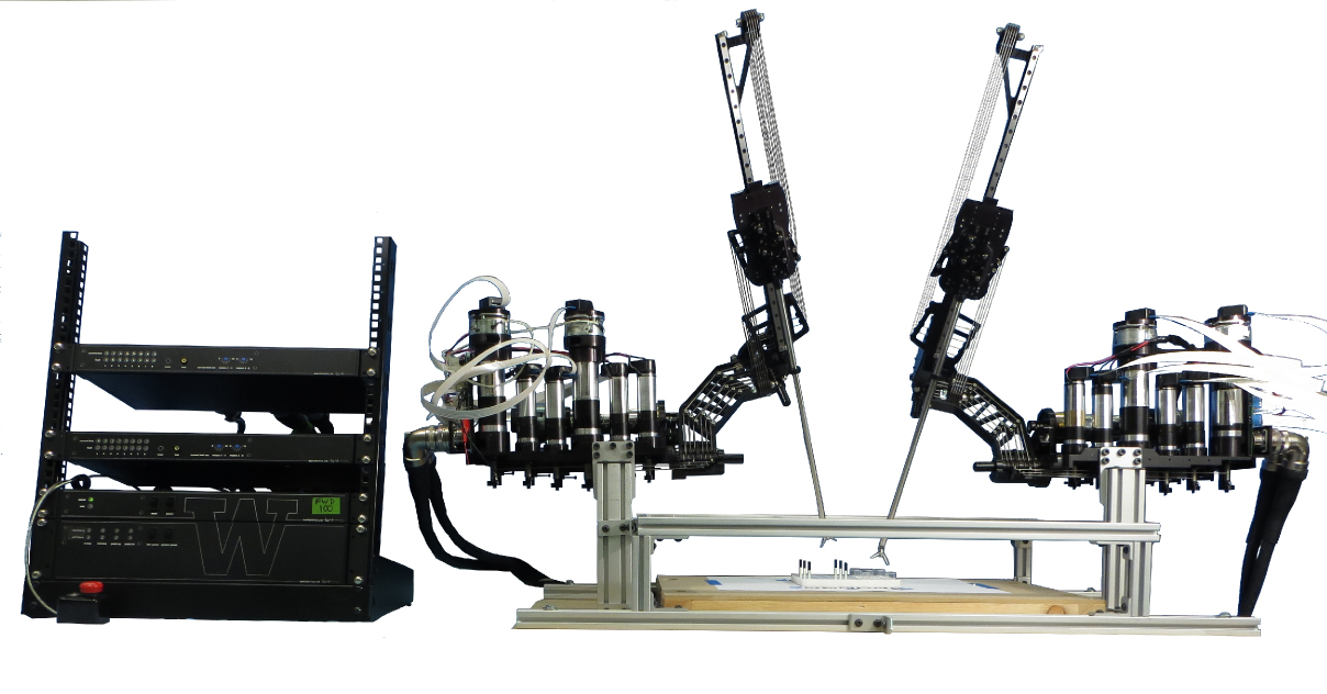 The Raven II surgical robot.