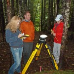 UW researchers use the GPS.