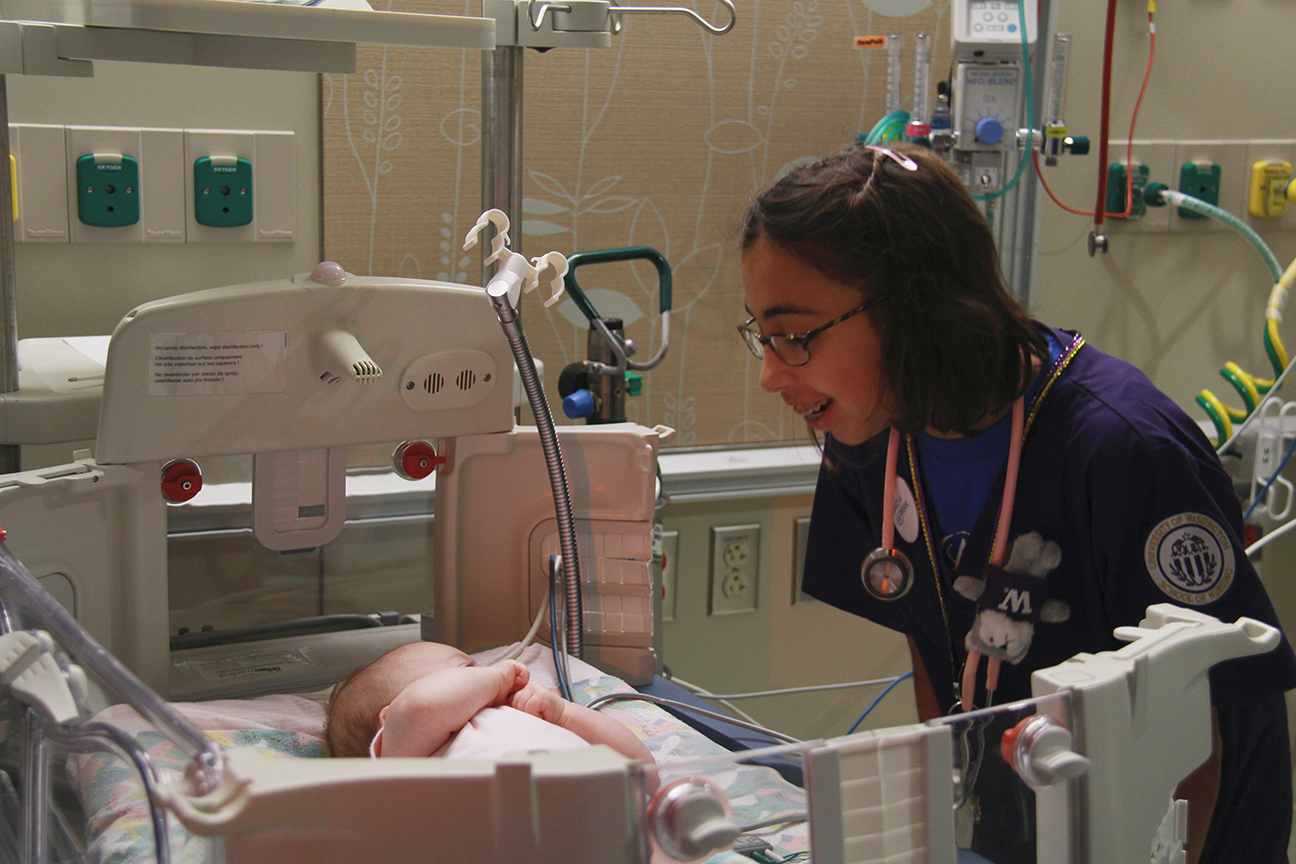 Uwmc Grants Wish For Seriously Ill Teen Interested In Nicu Nursing
