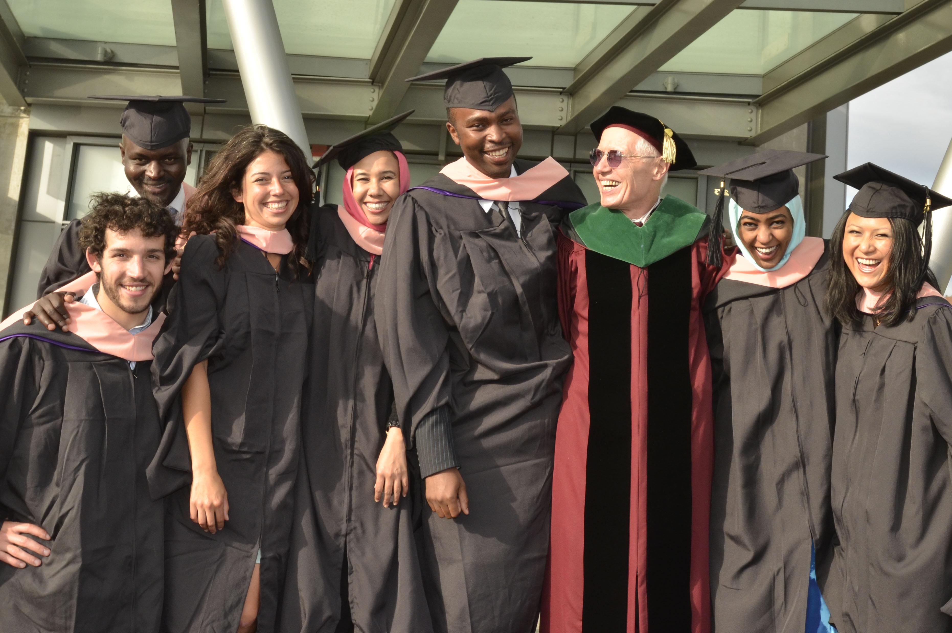 Gloyd  with grads