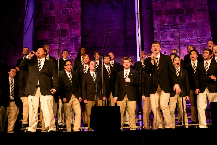 UW Men's Glee Club performs at Meany Theater on March 1