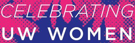 Celebrating UW Women logo