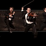 The JACK Quartet -- violinists Christopher Otto and Ari Streisfeld, violist John Pickford Richards, and cellist Kevin McFarland -- will perform two shows in the Meany Hall Studio Theater March 15.
