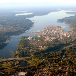 Aerial view of Olympia