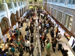 The UW Summer Undergraduate Research Poster Session was held the morning of Wednesday, Aug. 20, in Mary Gates Hall.
