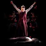 "Soledad Barrio in the Noche Flamenca production of ""Antigona,"" presented by the UW World Series."