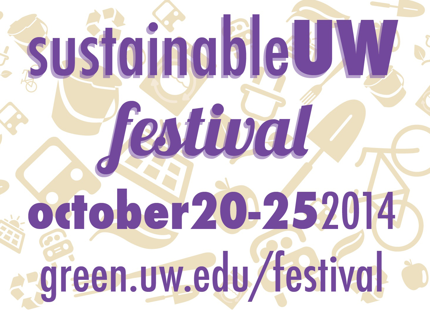 SustainableUW Festival logo