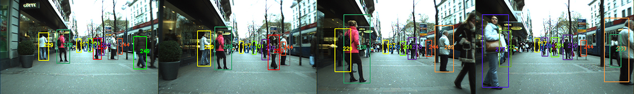 Tracking camera example