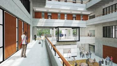 Gould Pavilion rendering