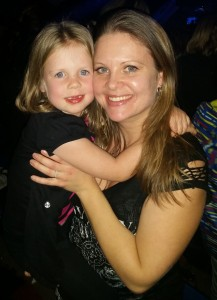 Alise Hegle with her daughter, Rebekah