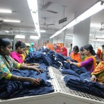 Workers in an apparel company in Dhaka, Bangladesh, in December 2014.