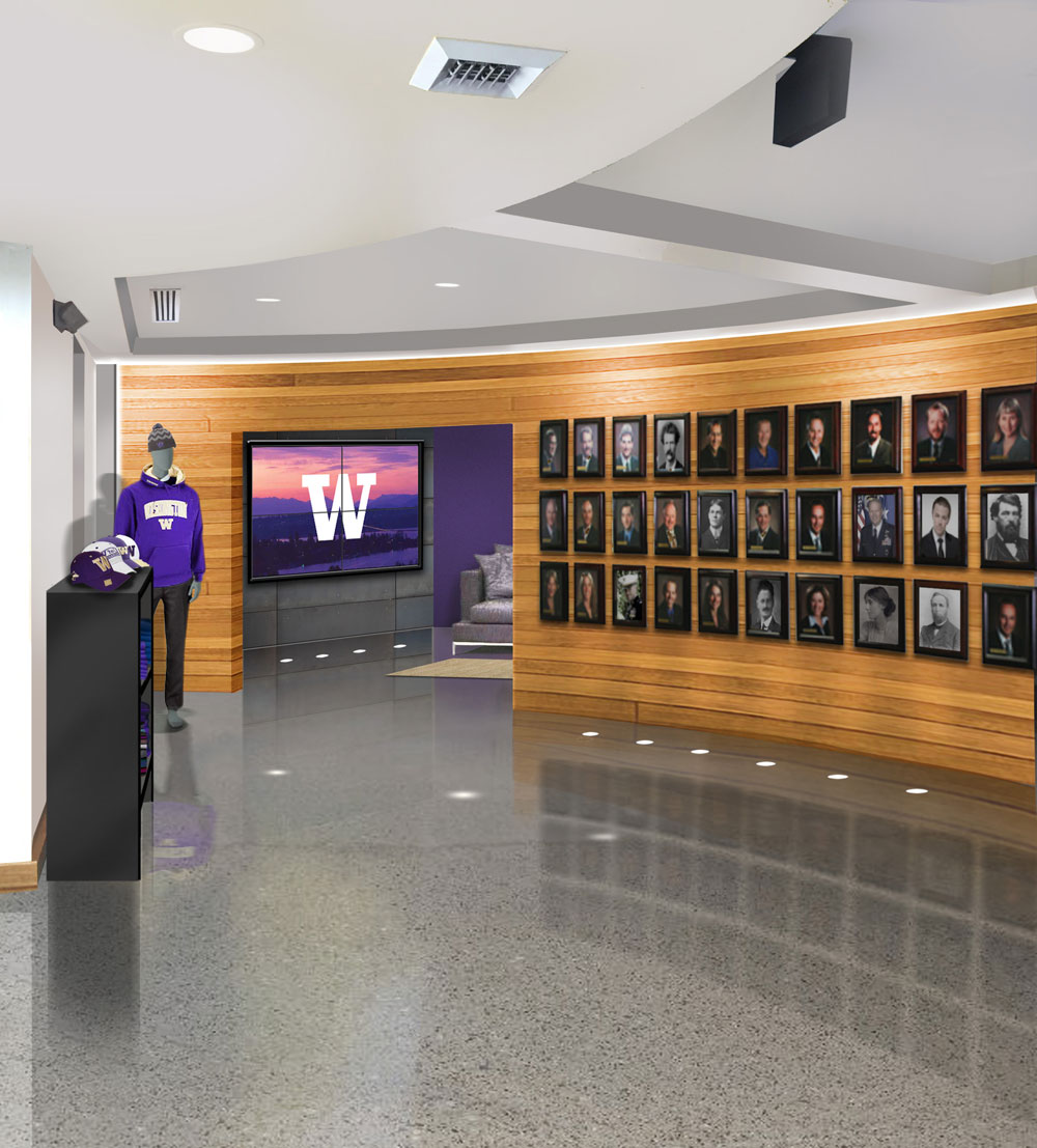 One Interior Rendering Of The Coming UW Spokane Center.