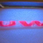 glowing UW