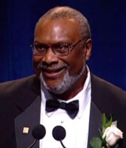 Quintard Taylor, UW historian and organizer of BlackPast.org, which was honored by the National Education Association