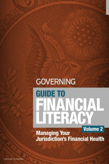 "Guide to Financial Literacy, volume 2, ""Managing Your Jurisdiction's Financial Health."" By Justin Marlowe of the Evans School of Public Policy & Governance."