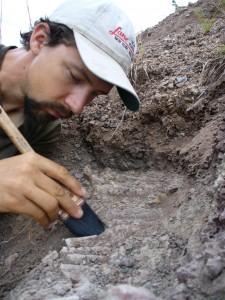 UW biology professor and Burke Museum curator of vertebrate paleontology Christian Sidor in Tanzania.