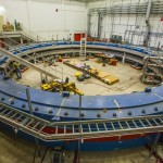 The fully assembled magnet at Fermilab.