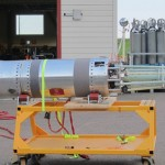 An experimental atmospheric rocket
