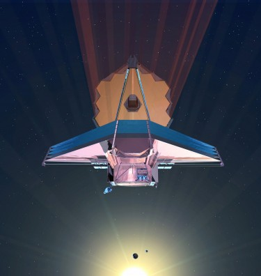 The James Webb Space Telescope, a large infrared telescope with a 6.5-meter primary mirror, is scheduled to be launched on an Ariane 5 rocket from French Guiana in October of 2018 and will be the premier NASA observatory of the next decade, serving thousands of astronomers around the world.