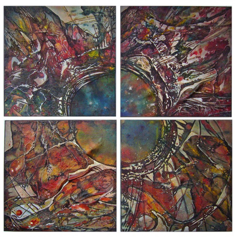 "Cheryl Richey's painting ""Astral Sonata"""