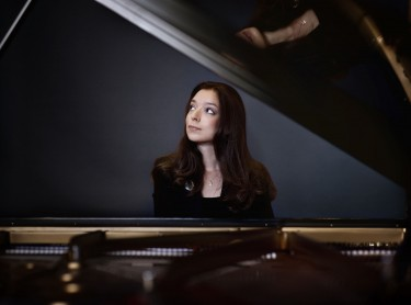 Yulianna Avdeeva performs at Meany Hall, December 1
