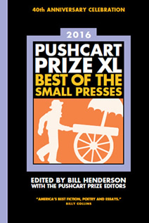 """The Weave,"" a story by UW English professor Charles Johnson, will appear in the 2016 ""Pushcart Prize: Best of the Small Presses"" anthology."