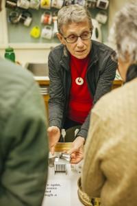 Burke Museum postdoctoral researcher Ruth Martin