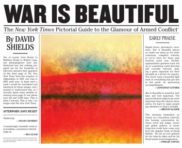 """""""War is Beautiful: The New York Times Pictorial Guide to the Glamour of Armed Conflict"""" was published Nov. 10 by Powerhouse Books."""