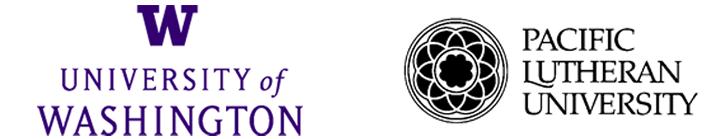 UW PLU logos 2