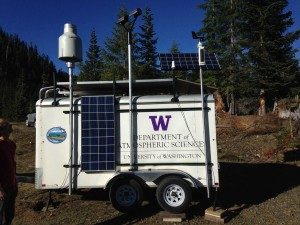 trailer with UW and NASA logos