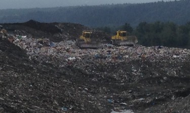 Cedar Hills Regional Landfill, King County's landfill in Maple Valley.