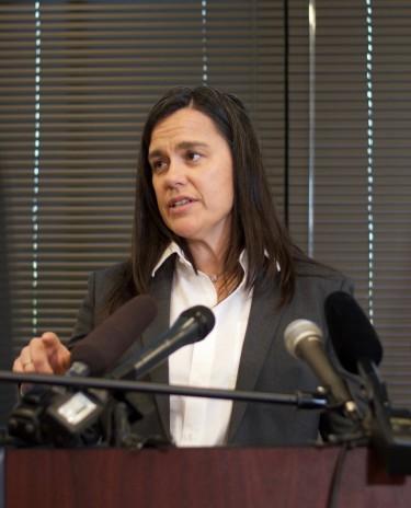 Forefront co-founder Jennifer Stuber
