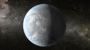 "New research from the University of Washington-based Virtual Planetary Laboratory will help astronomers better identify and rule out ""false positives"" in the ongoing search for life. Shown is a NASA illustration of Kepler 62E about 1,200 light-years away in the constellation Lyra."