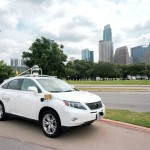 Photo of driverless car
