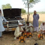 Picture of groundwater fieldwork