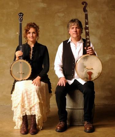 Folk duo Béla Fleck & Abigail Washburn return to Meany Hall on February 13.