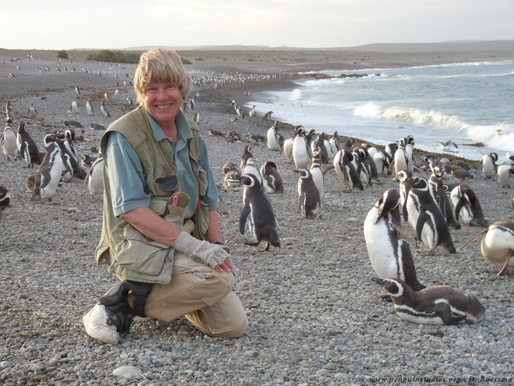 Conservation scientist Dee Boersma