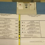 "A ""butterfly"" ballot from Florida for the 2000 presidential election."
