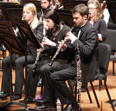 UW Wind Ensemble gives a preview concert before embarking on their China Tour, March 10.