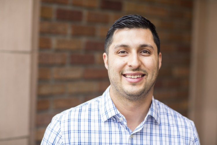 Ismael Fajardo, a postdoctoral research associate in the College of Education, is part of the team working on the project.