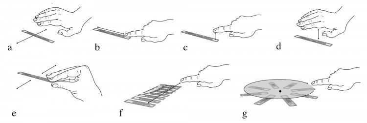 pictures showing the types of RFID tag interaction