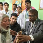image of SpiroSmart being used in a Bangladesh clinic